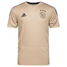 ajax trænings t-shirt - guld/grå - t-shirts