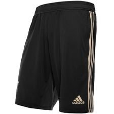 ajax training shorts - carbon/raw gold kids - training shorts