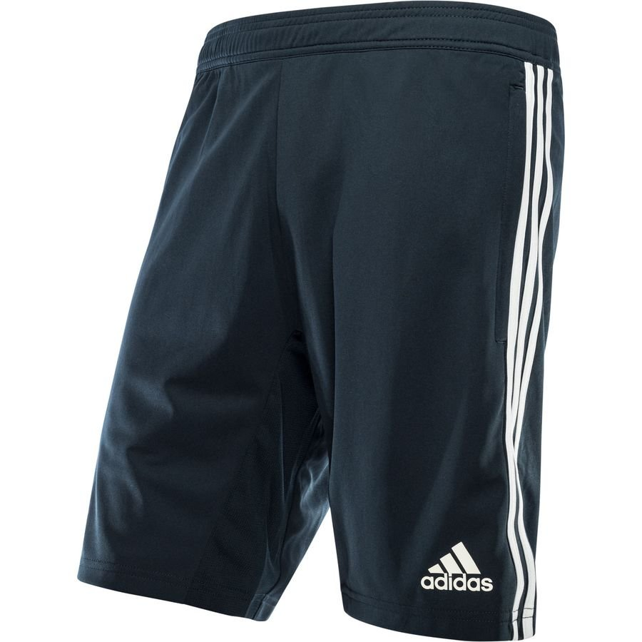 new styles 396ec 5393a Real Madrid Training Shorts Black/White - Kids