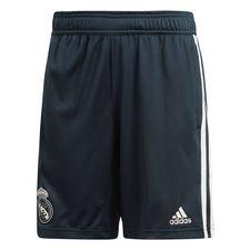 Real Madrid Shorts Svart/Vit - Barn