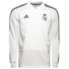 Real Madrid Träningströja - Vit/Teconi Barn