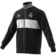 Real Madrid Track Top 3S - Svart/Vit
