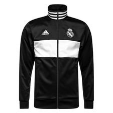 Real Madrid Track Top 3S - Svart/Vit