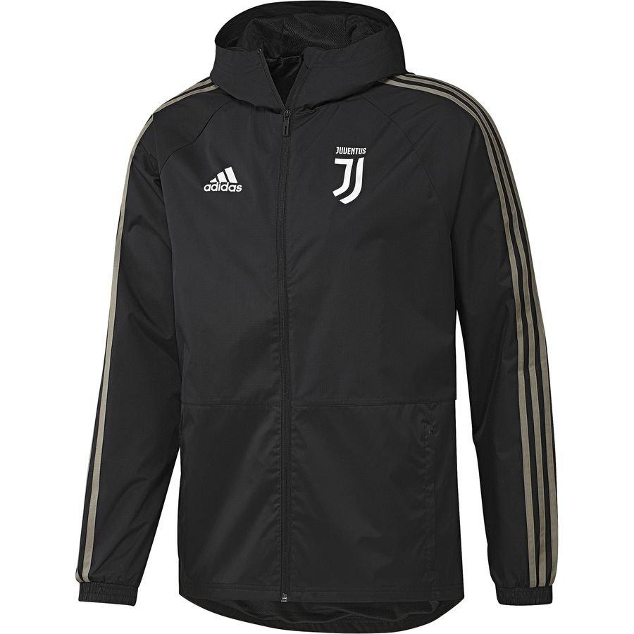 Juventus Veste de Pluie - Noir/Marron