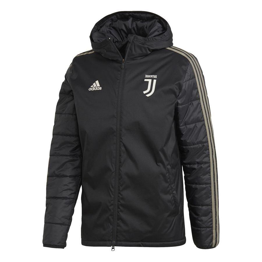 Juventus Manteau d'Hiver - Noir/Marron