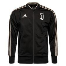 Juventus Jas Presentation - Zwart/Bruin Kinderen