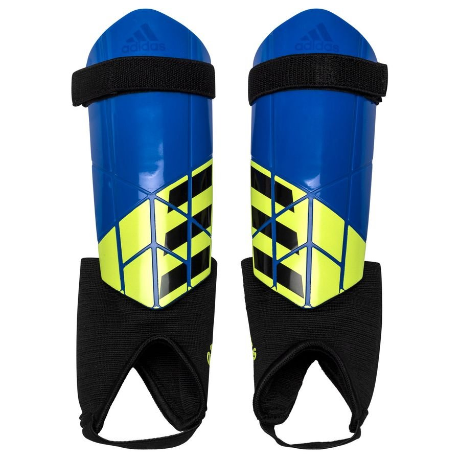 47dc487e6 adidas shin pads x energy mode - blue/solar yellow kids - shin pads ...