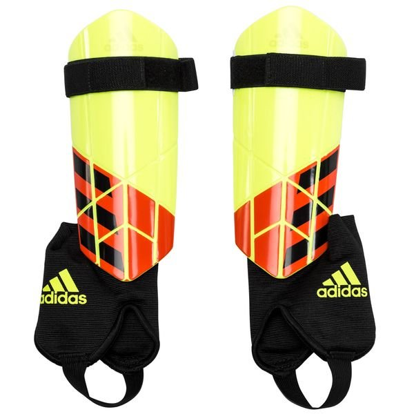606127719 adidas Shin Pads X Team Mode - Solar Yellow/Solar Red/Black Kids |  www.unisportstore.com