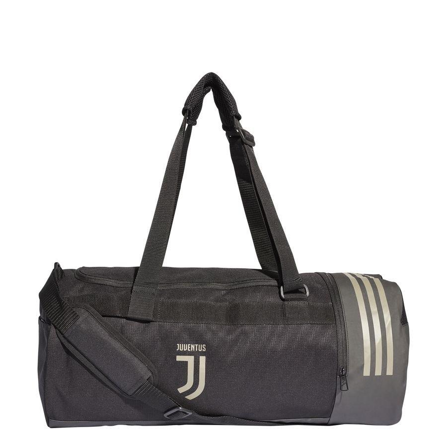 Juventus Sac de Sport Duffel - Noir/Marron