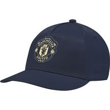 Manchester United Keps S16 - Navy/Guld