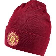 Manchester United Mössa 3 Stripes - Röd/Svart