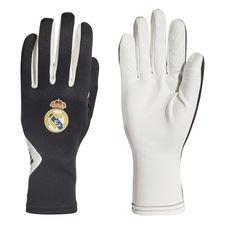 real madrid spillehandsker field player - sort/hvid - handsker