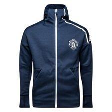Manchester United Luvtröja Z.N.E. - Navy/Vit