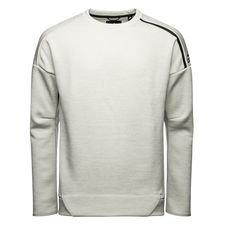 adidas sweatshirt z.n.e. crew - grå - sweatshirts