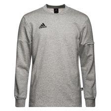 adidas sweatshirt tango - grå - sweatshirts