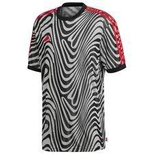 Image of   adidas Trænings T-Shirt Tango - Sort/Hvid