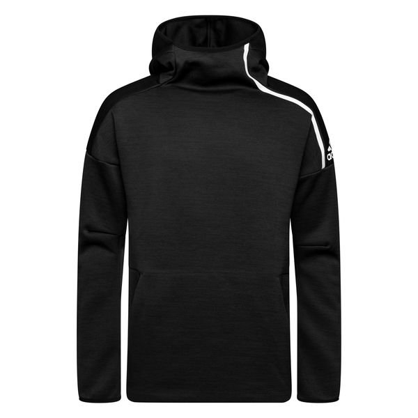 adidas hoodie z n e pullover schwarz wei. Black Bedroom Furniture Sets. Home Design Ideas