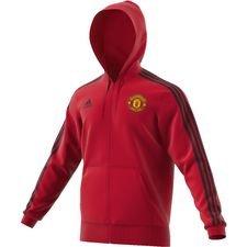Manchester United Luvtröja FZ HD 3S - Röd/Svart