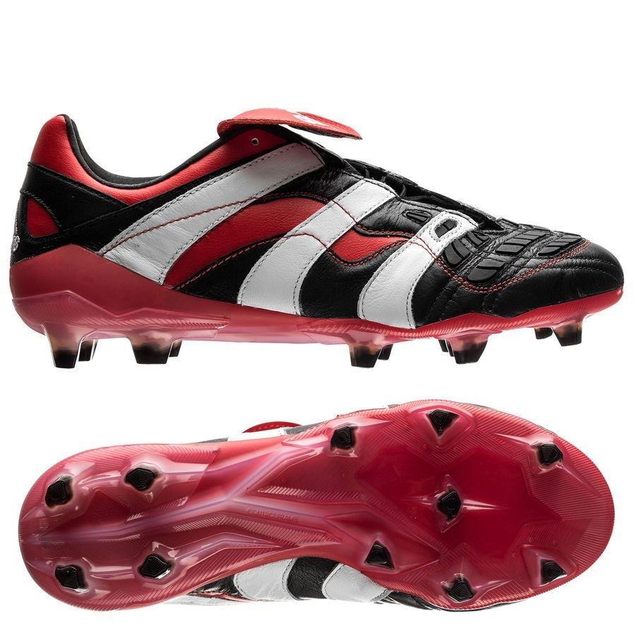 3d584baa882 adidas predator accelerator fg ag - core black footwear white red limited  edition ...