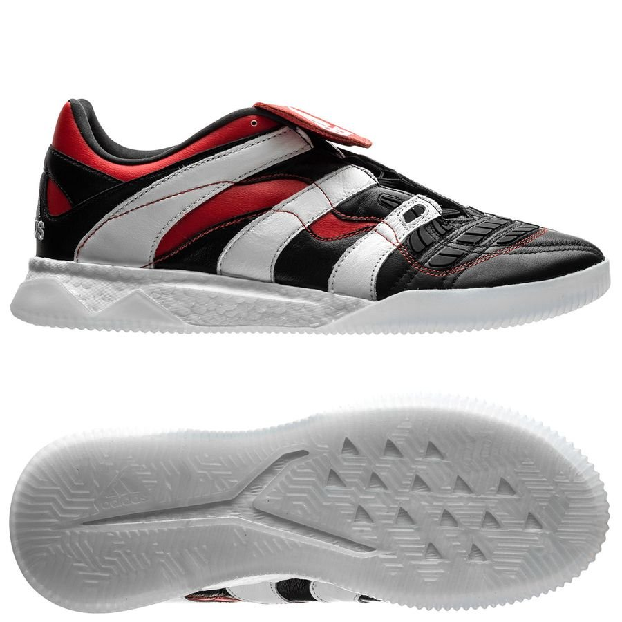 5d3e433bd2ae adidas predator accelerator trainer boost - core black footwear white red  limited edition ...