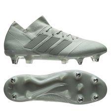 adidas nemeziz 18.1 sg spectral mode - sølv/hvid - fodboldstøvler