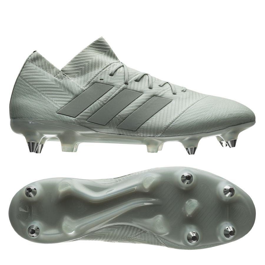 adidas Nemeziz 18.1 SG - Sølv/Hvid