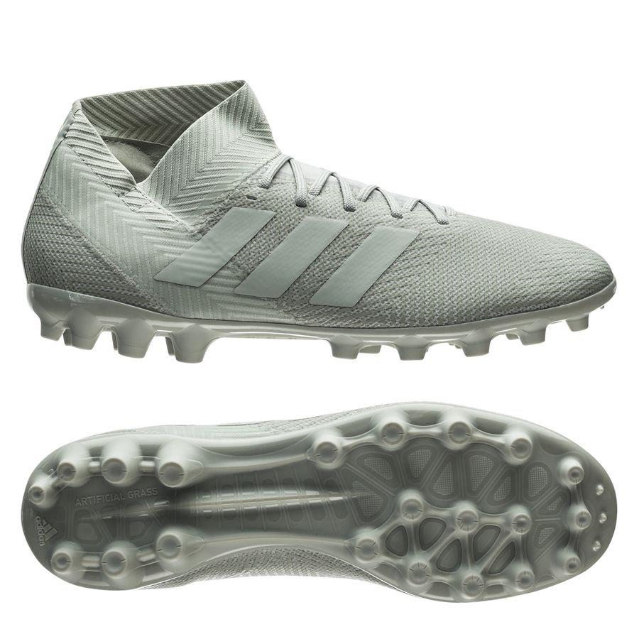 adidas Nemeziz 18.3 AG Spectral Mode - Argenté/Blanc