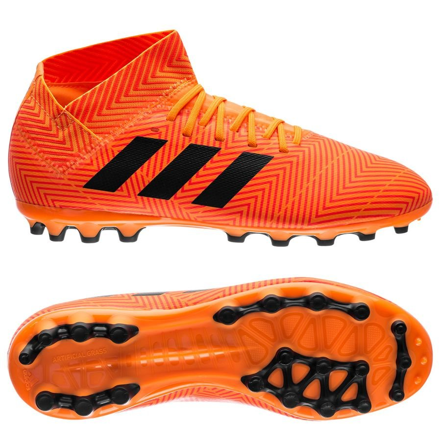 new product f09bf 56c9c adidas nemeziz 18.3 ag energy mode - orange core black kids - football  boots ...