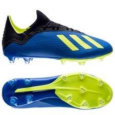 adidas X 18.2 FG/AG Energy Mode - Blauw/Geel