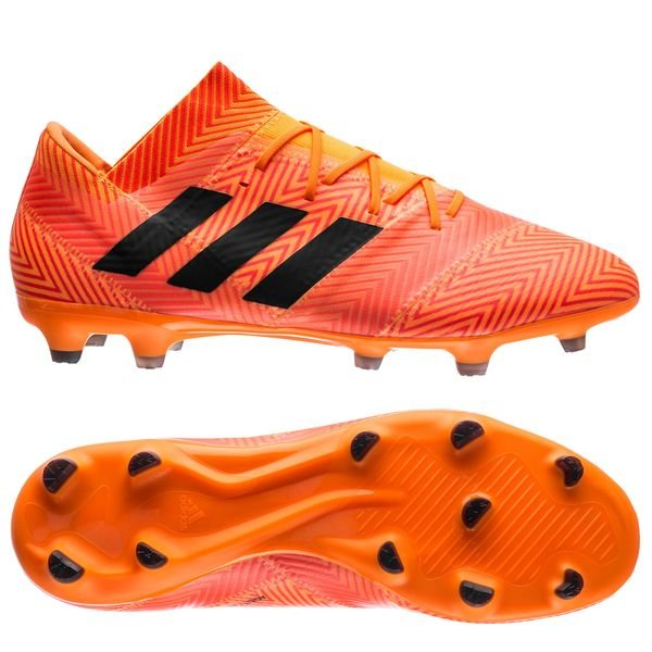 adidas Nemeziz 18.2 FG/AG - Orange/Sort