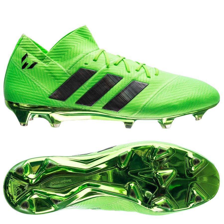 adidas nemeziz messi 18.1 fg ag energy mode - grön svart - fotbollsskor ... d93d94e569480
