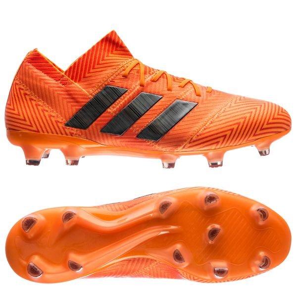0861935e2635 adidas Nemeziz 18.1 FG/AG Energy Mode - Orange/Black | www ...