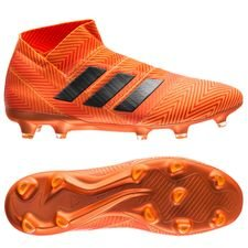 adidas Nemeziz 18+ FG/AG Energy Mode - Orange/Svart
