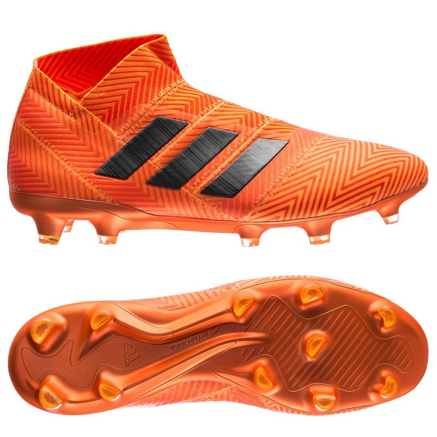 adidas nemeziz 18+ fgag energy mode - orangeblack - football boots