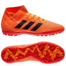 adidas nemeziz tango 18.3 tf energy mode - orange/sort - fodboldstøvler