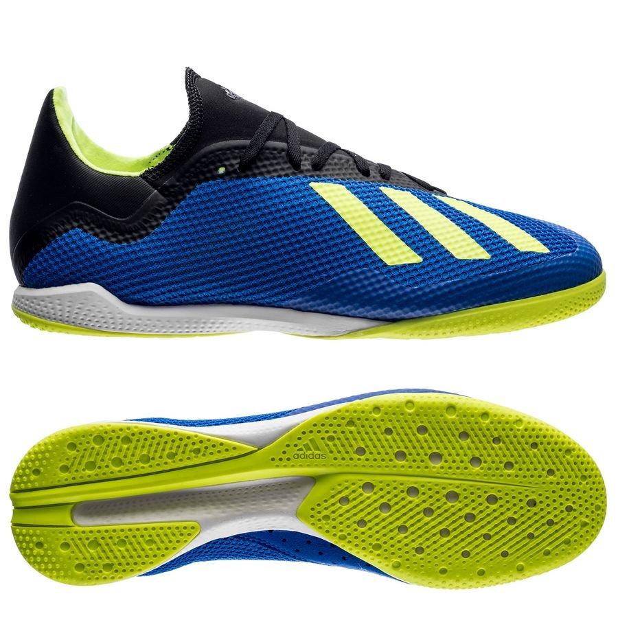 adidas x tango 18.3 in energy mode - blå gul - inomhusskor ... 97f6abc216e01