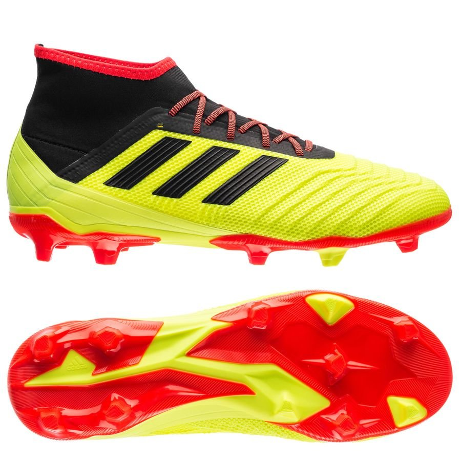 9329daf25de1af adidas predator 18.2 fg ag energy mode - solar yellow core black - football  ...