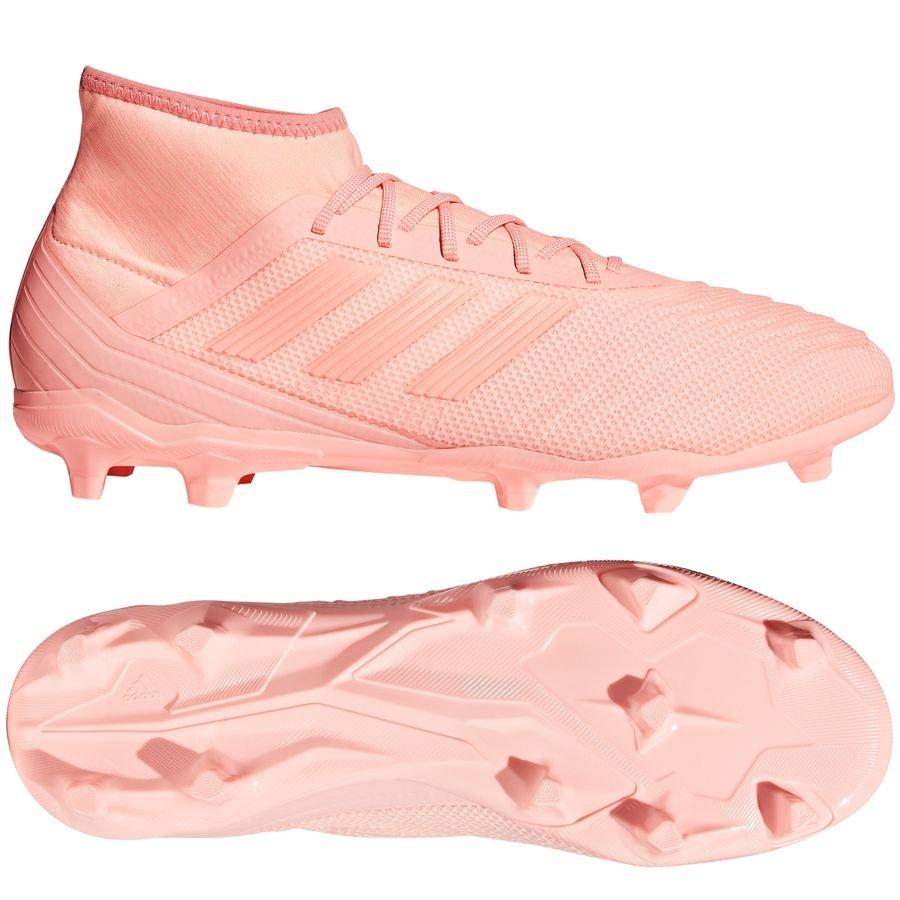 adidas Predator 18.2 Pink Græs (FG)