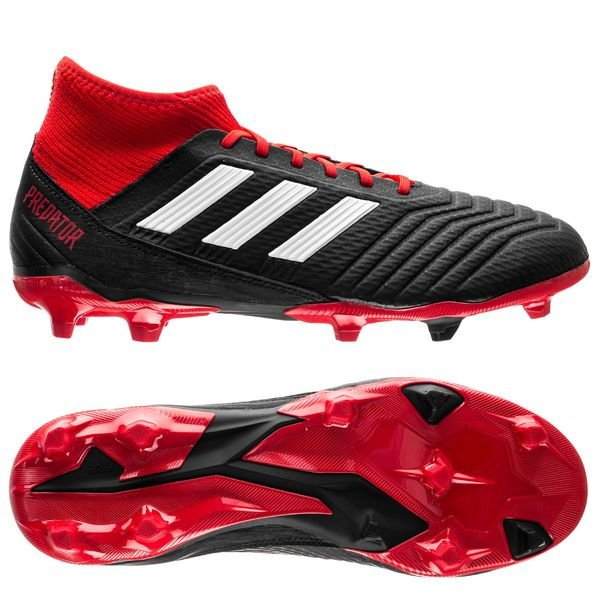 biggest discount promo code best website adidas Predator 18.3 FG/AG Team Mode - Schwarz/Weiß/Rot ...