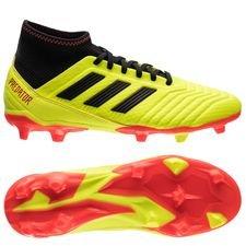 adidas predator 18.3 fg/ag energy mode - gul/sort - fodboldstøvler