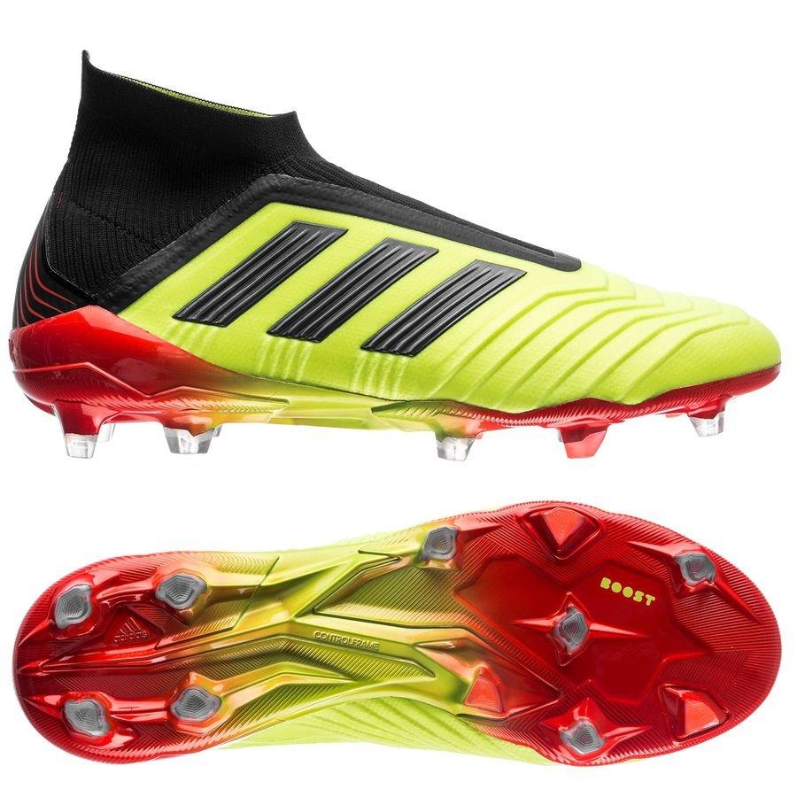 big sale 960fa b0c64 adidas predator 18+ fgag energy mode - solar yellowsolar red ...