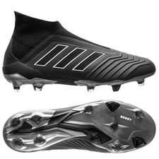 adidas Predator 18+ FG/AG Shadow Mode - Sort/Hvit