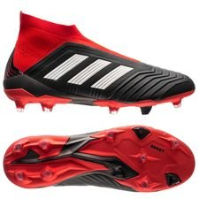 adidas Predator 18+ FG/AG Team Mode - Core Black/Footwear White/Red
