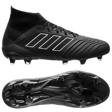 adidas Predator 18.1 FG/AG Shadow Mode - Sort/Hvit