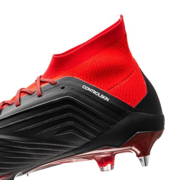half off 28542 3d41a adidas Predator 18.1 SG Team Mode - Noir Blanc Rouge 9