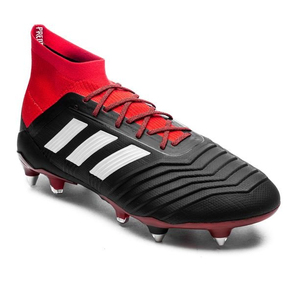 separation shoes 60d2e dad09 adidas Predator 18.1 SG Team Mode - Noir Blanc Rouge 3