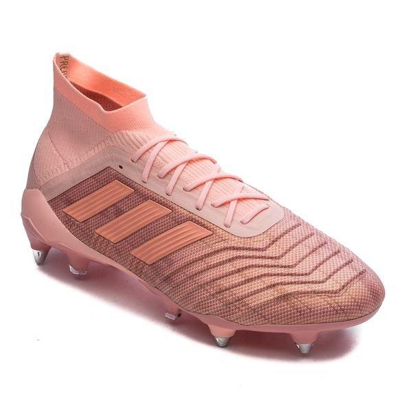 Chaussures football adidas Predator 18.1 SG Rose