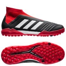 adidas Predator Tango 18+ TF Team Mode - Core Black/Footwear White/Red