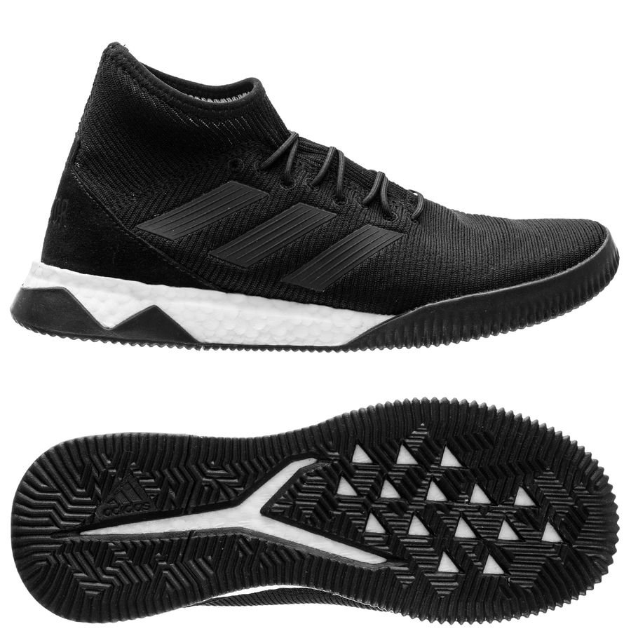 promo code d252d ffa88 adidas predator tango 18.1 trainer boost shadow mode - core blackfootwear  white - sneakers ...