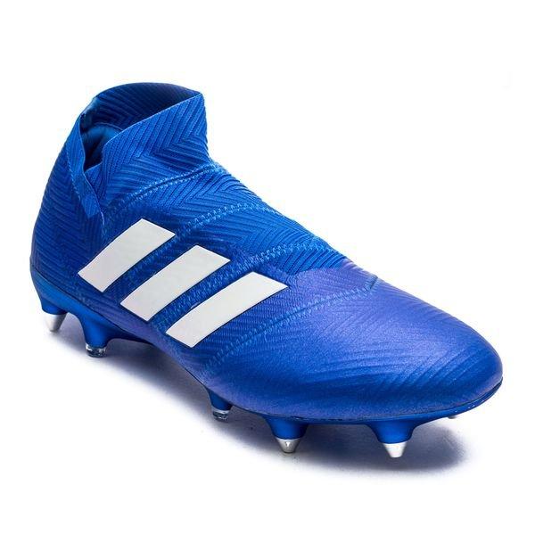 c47bb90d adidas Nemeziz 18+ SG Team Mode - Blå/Hvit | www.unisportstore.no